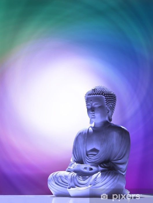 Buddha praying Vinyl Wall Mural - Styles