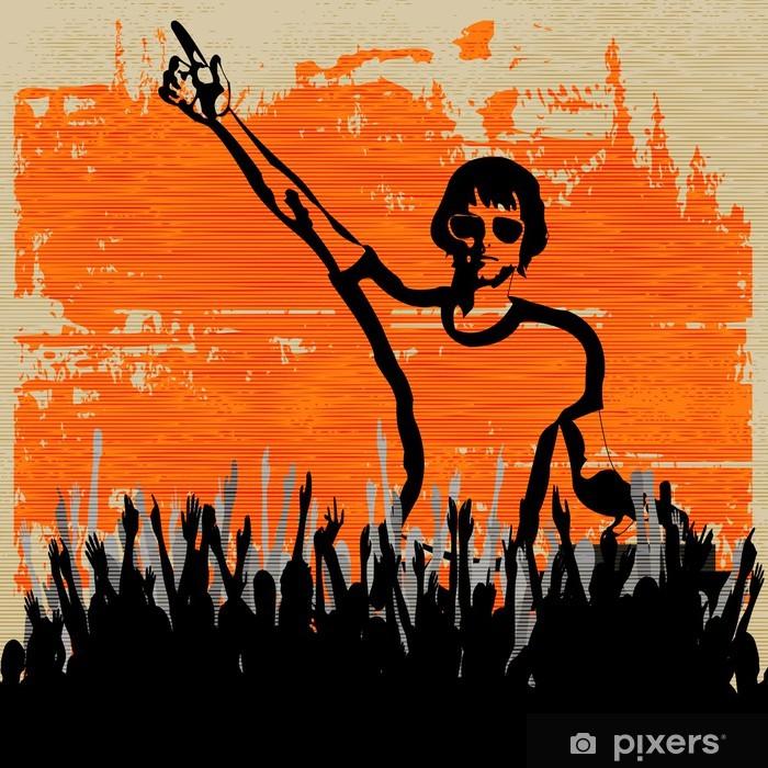 Plakát Indie DJ Set Flyer - Zábava