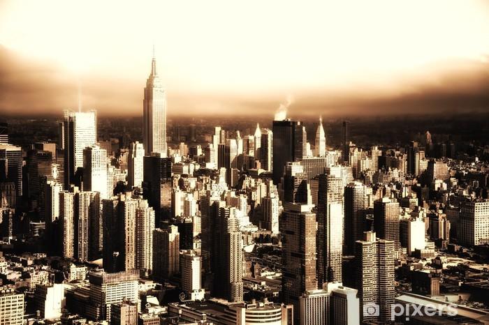 Naklejka Pixerstick Manhattan Nowy Jork - Tematy