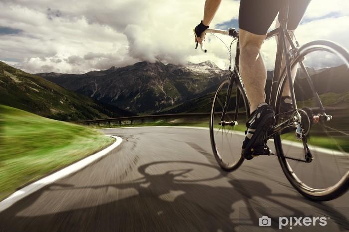Papier Peint Autocollant Visite en bicyclette - Cyclisme