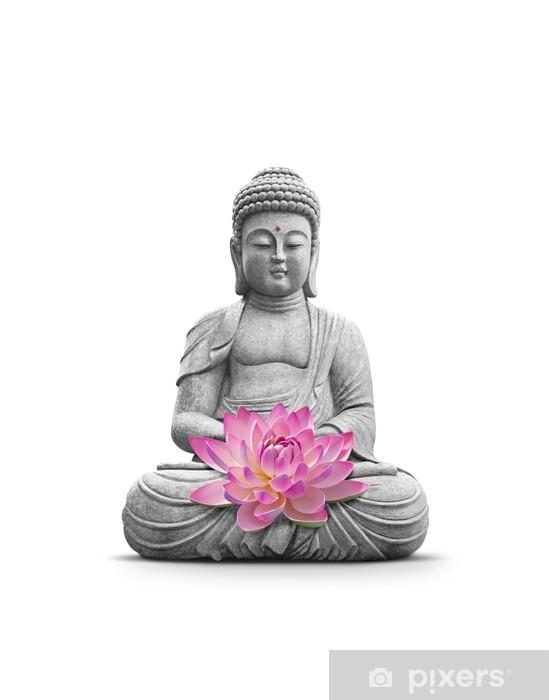Papier peint vinyle Bouddha et Méditation - Sticker mural