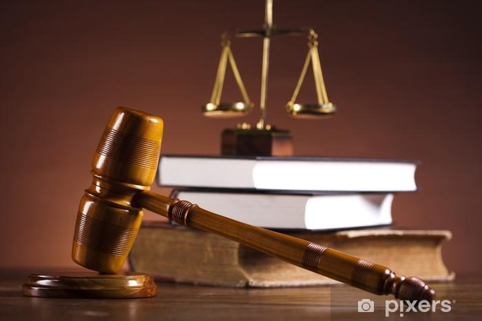 Naklejka Pixerstick Prawo i pojęcie sprawiedliwości - Sprawiedliwość