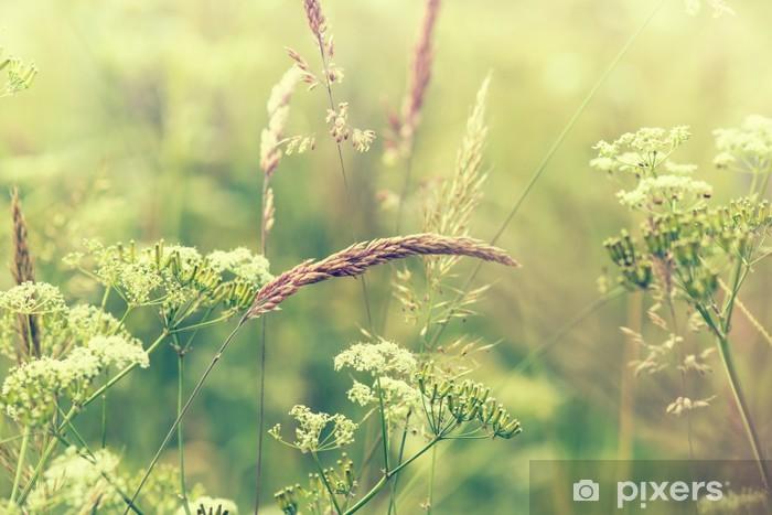 Flowering Meadow Pixerstick Sticker -