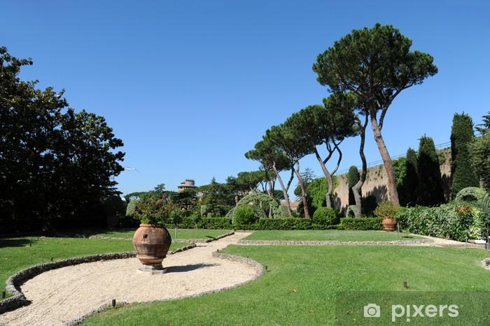Nálepka Pixerstick Řím Vatikánské zahrady - Evropská města