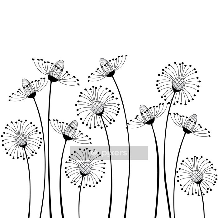 meadow flowers Wall Decal - Science & Nature