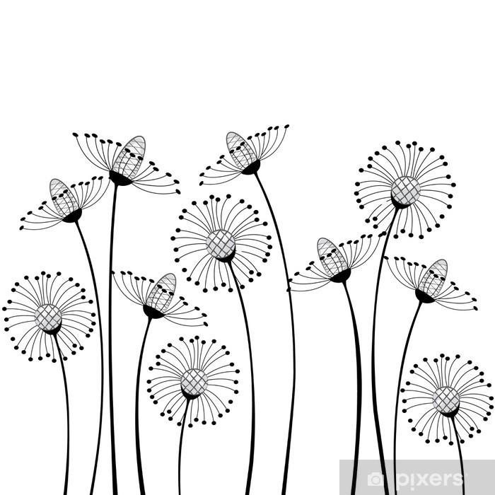 Papier peint vinyle Meadow & fleurs - science &; nature