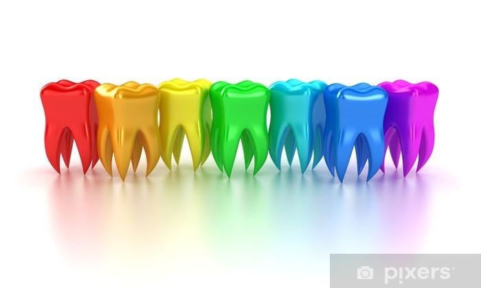 Papier peint vinyle Les dents - Santé et médecine