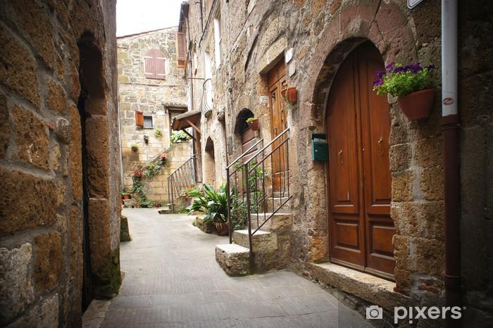 Fototapeta zmywalna Typowy włoski wąska ulica - Tematy