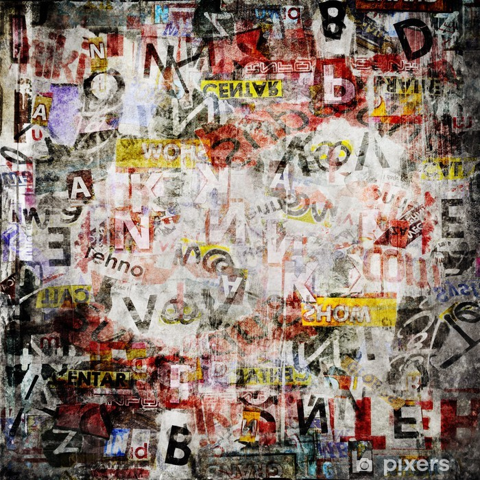 Fototapeta winylowa Grunge teksturowanej tle - Tematy