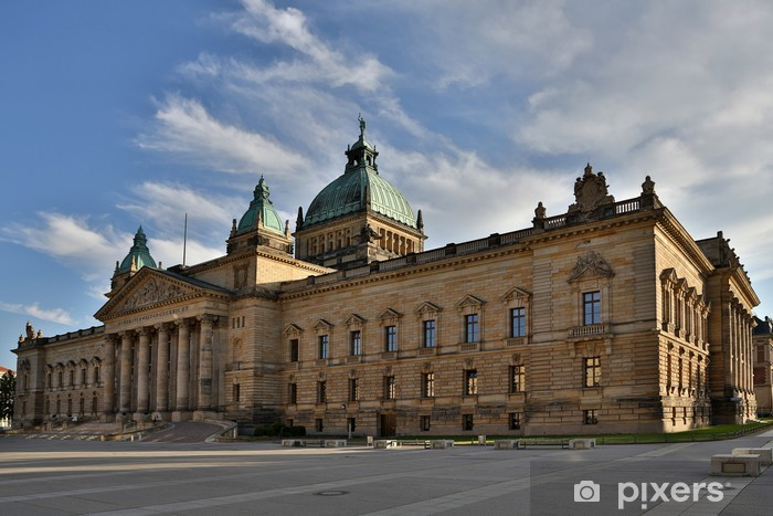 Naklejka Pixerstick Bundesverwaltungsgericht - Sprawiedliwość