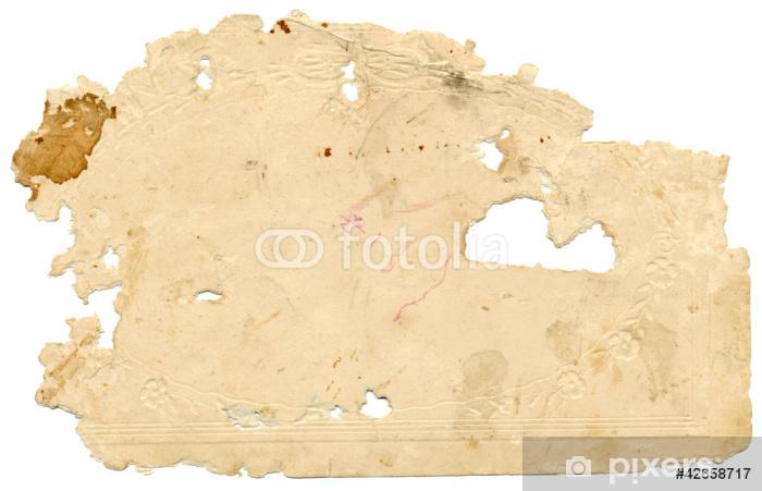 Sticker Pixerstick Papier ancien - Textures