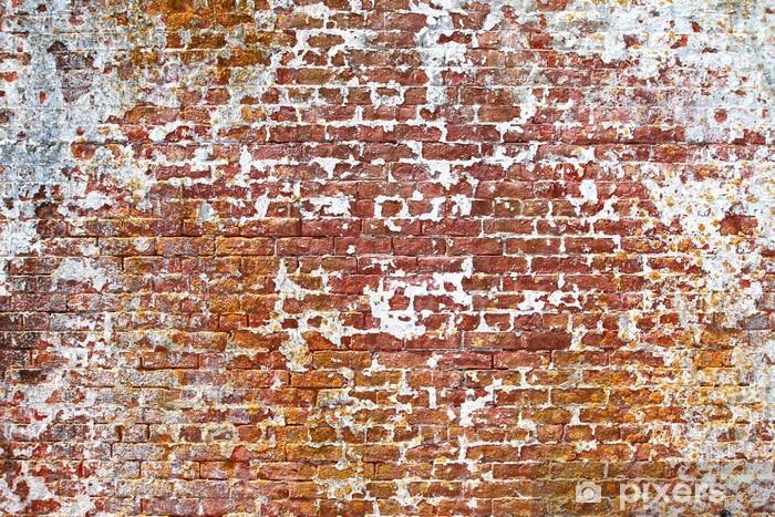 Fototapeta winylowa Stary mur - Przemysł ciężki