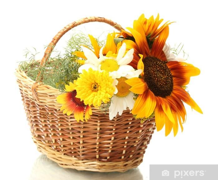 Image result for canasta de flores imagen