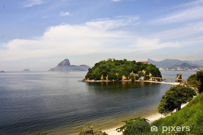 Sticker Pixerstick Niteroi, Rio de Janeiro-Brasile - Villes américaines