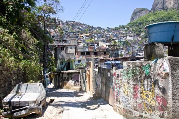 Favela della Rocinha,Rio de Janeiro Vinyl Wall Mural - American Cities