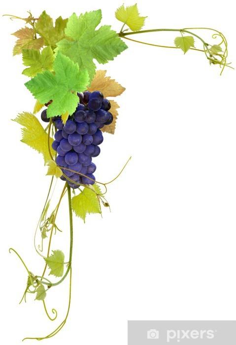 Carta da parati grappolo d 39 uva pixers viviamo per il for Carta parati vinile