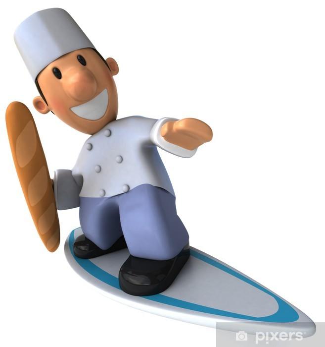 Naklejka Pixerstick Boulanger - Posiłki