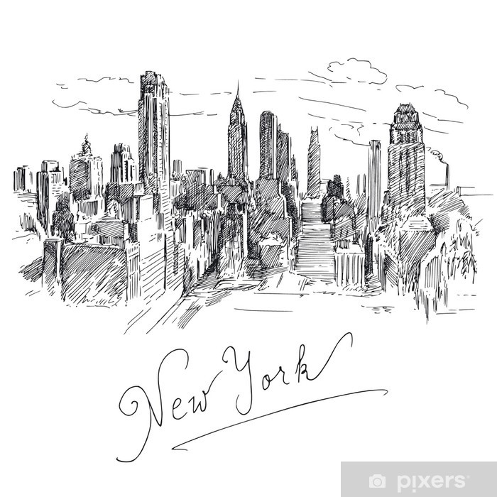 New York Vinyl Wall Mural - Wall decals