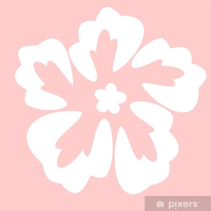 Naklejka Na Szybę I Okno Kwiaty Szablon Pixers żyjemy By Zmieniać