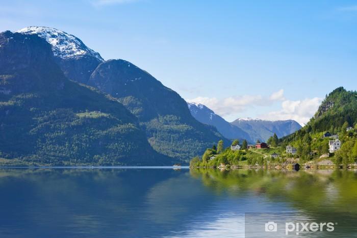 Naklejka Pixerstick Berglandschaft - Europa