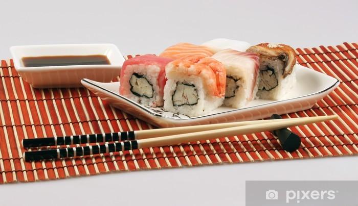 Papier peint vinyle Rouleaux japonais - Sushi