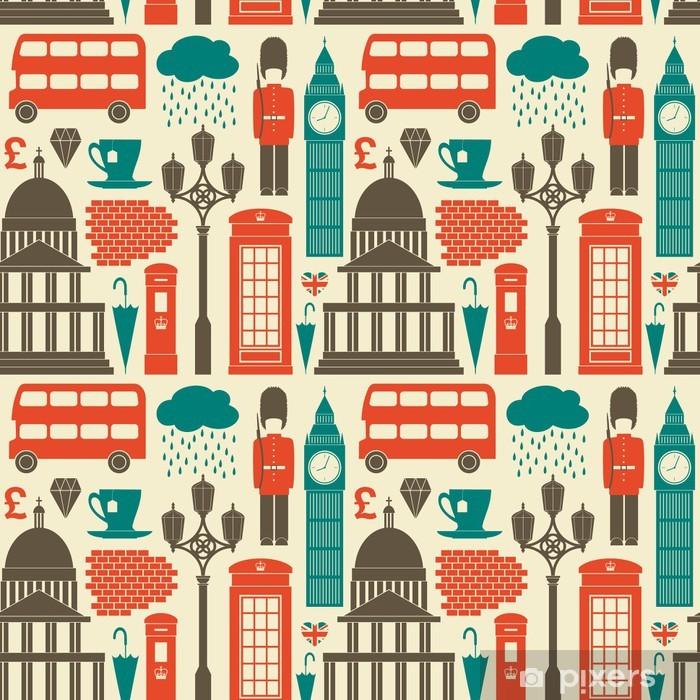 Adesivo Pixerstick Londra Sfondo - Stili
