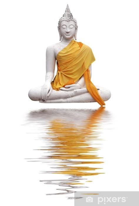 Nálepka Pixerstick Bouddha et reflets - Památky