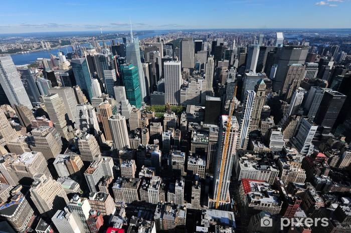 Sticker Pixerstick Photos de voyage de New York - Manhattan - Villes américaines