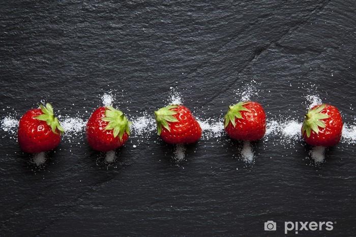 Pixerstick Sticker Gariguettes Aardbeien - Thema's