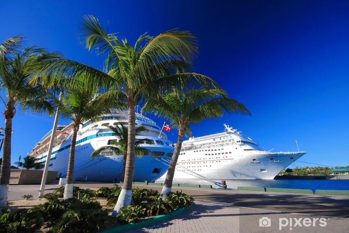 Papier peint vinyle Bahamas quai - Paysages urbains