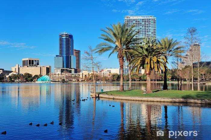 Naklejka Pixerstick Orlando rano - Ameryka