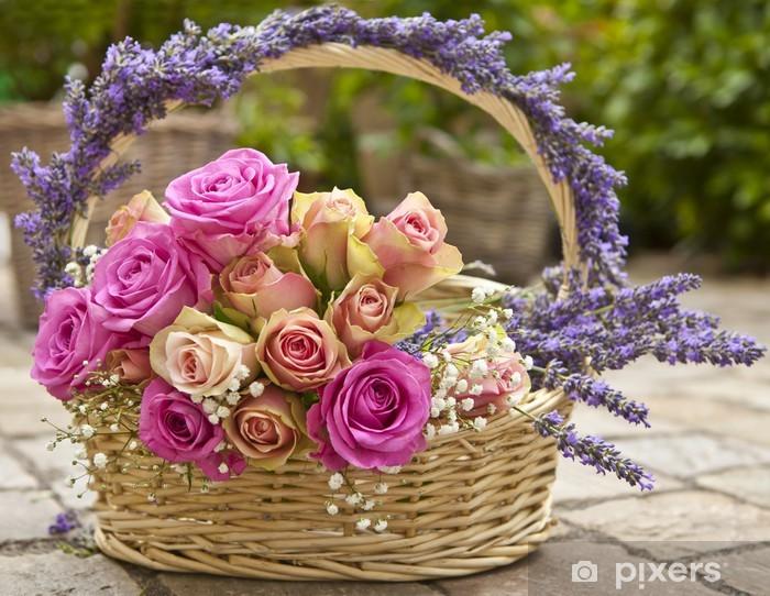 Außergewöhnlich Rosen, Lavendel Wall Mural • Pixers® • We live to change #ZZ_56