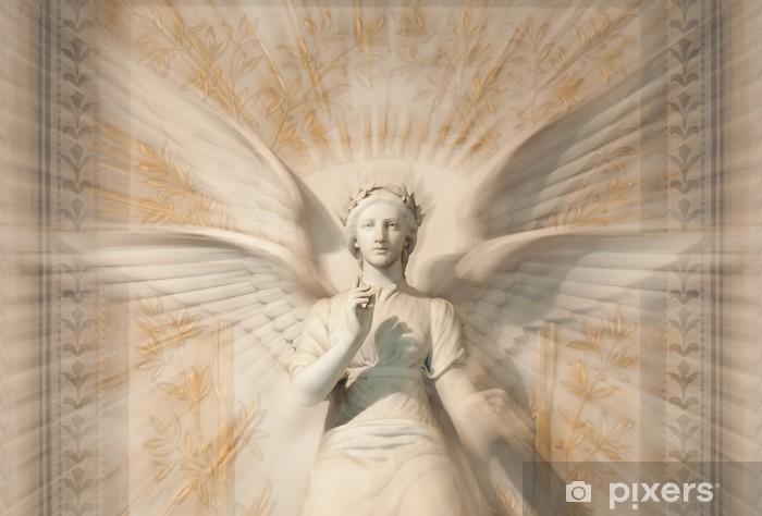 Fotomural Estándar Estatua de ángel mujer. - Temas