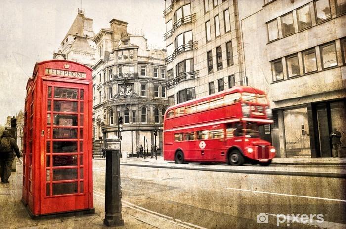Fototapeta winylowa Rocznik Fleet Street w Londynie - Tematy