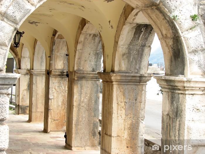Naklejka Pixerstick Mediterranean korytarz - Tematy