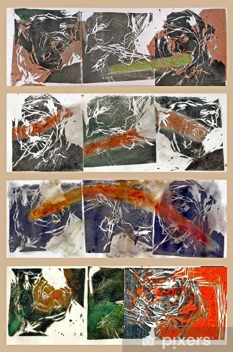 Fototapeta winylowa Linoryty - Charles Bukowski - Sztuka i twórczość