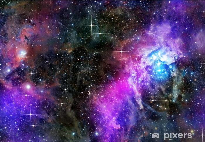 Pixerstick Sticker Diep of outer space - Sterren