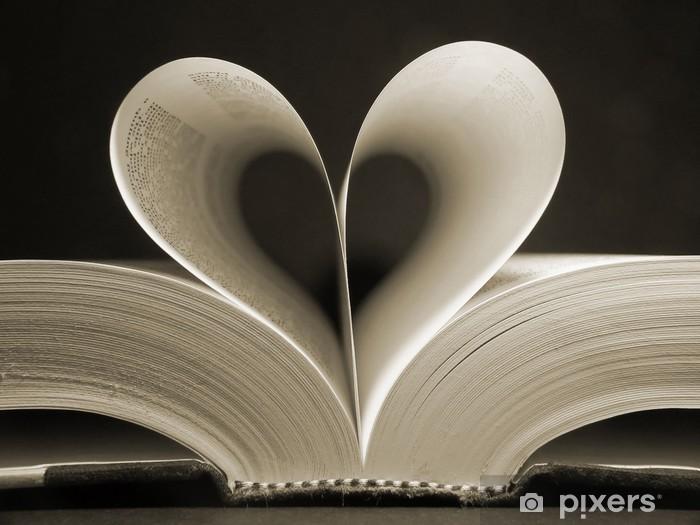 heart shaped book Pixerstick Sticker - iStaging