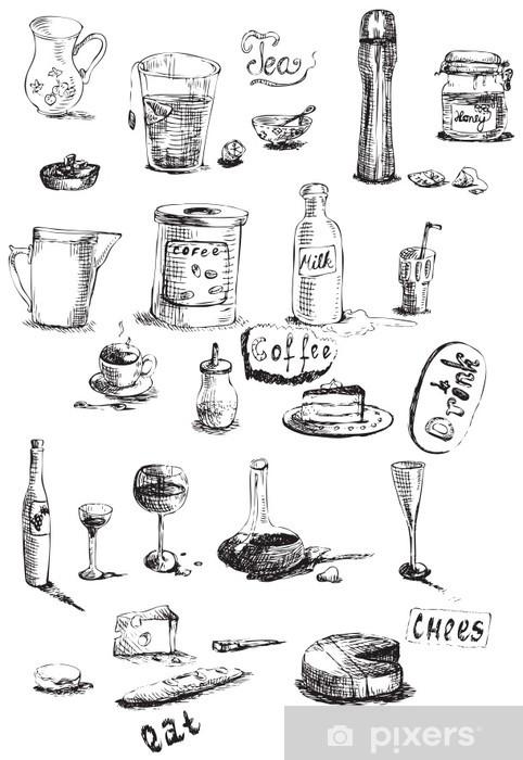 Adesivo Pixerstick Dalla cucina - Casa e Giardino