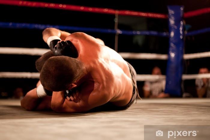 Vinilo Pixerstick Partido de MMA - Temas