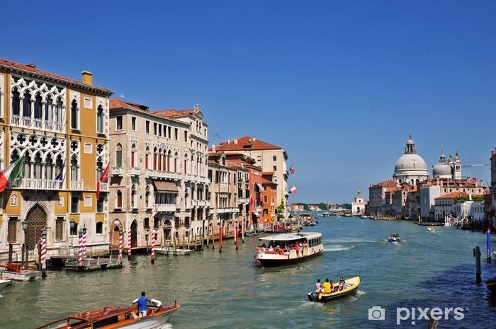 Fototapeta winylowa Wenecja przez Canal Grande - Miasta europejskie