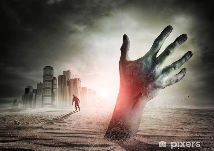 Sticker Pixerstick Zombie Rising - Thèmes