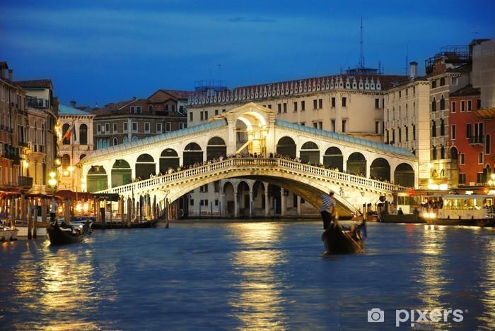 Fototapeta winylowa Most Rialto w Wenecji - Tematy