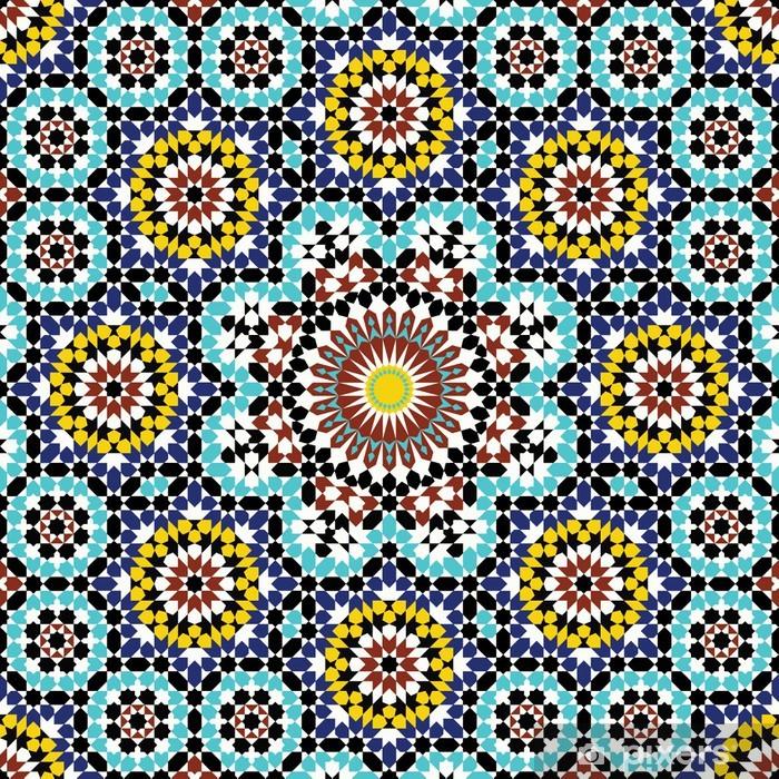 Anvar Complex Pattern Pixerstick Sticker - Mosaic