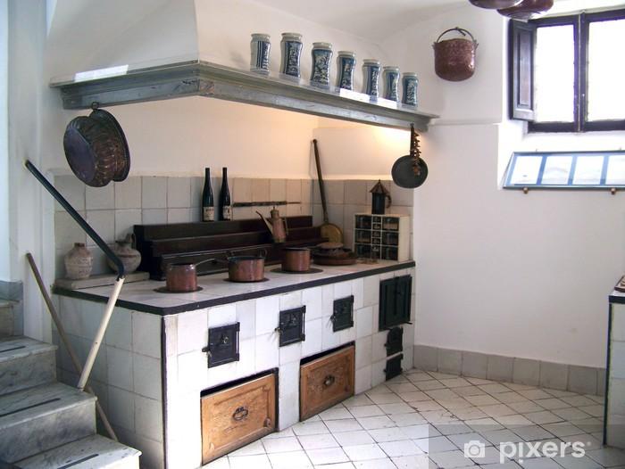 cuisine ancienne Pixerstick Sticker - Europe
