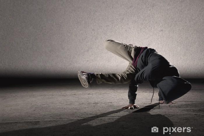 Vinyl Fotobehang Cool breakdancing stijl - Thema's