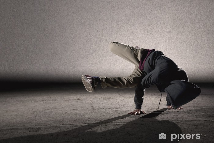 Fotomural Estándar Estilo fresco breakdancing - Temas