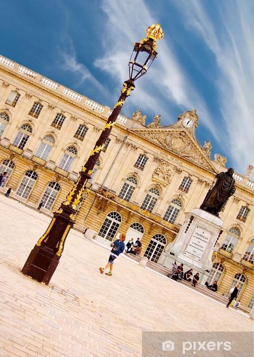Aufkleber La Place Stanislas à Nancy En Lorraine Frankreich Pixerstick