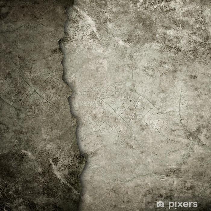 Poster Alten Grunge-Wand - Themen