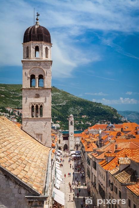 Nálepka Pixerstick Stradun, Dubrovnik, Chorvatsko - Evropa